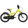 s'cool XXlite 16 - Vélo enfant - alloy jaune/noir